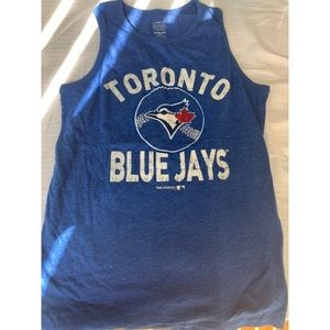 "OLD NAVY Boys ""Blue Jays"" Tank Sz 14-16"